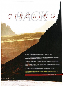 Circling Back article Canoe and Kayak cover