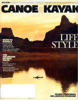 Canoe & Kayak magazine cover, Spring 2016