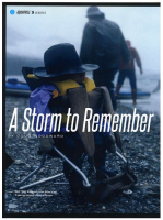 A Storm to Remember, article by Doug Woodward in Canoe&Kayak mag, spread image.